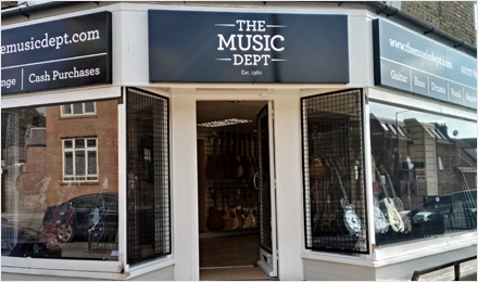 The Music Dept Shop