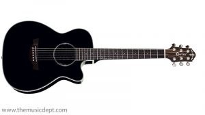 Crafter TRV 23 Travel Guitar - Black - w/ bag
