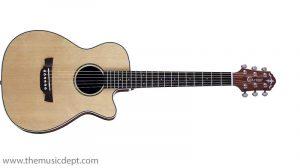 Crafter TRV 23 Travel Guitar - Natural w/ bag