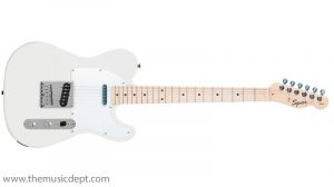 Squier By Fender Affinity Telecaster MN Electric Guitar, Arctic White