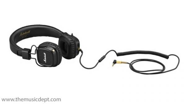 Marshall Major II Bluetooth Headphones - Black