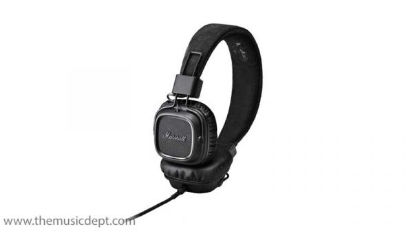 Marshall Major II Headphones - Pitch Black