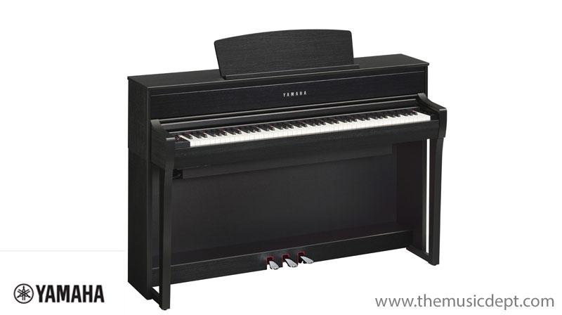 yamaha clp 675 clavinova the music dept. Black Bedroom Furniture Sets. Home Design Ideas