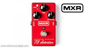 MXR M78 Custom Shop Badass Distortion