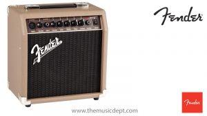 Fender Amp Showroom St Albans Acoustasonic